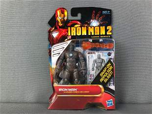 Group of 5 Iron Man 2 Comic Series Action Figures