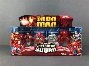 Group of 3 Marvel Super Hero Squad Toy Packs
