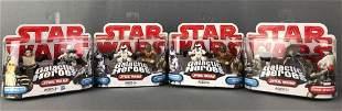 Group of 4 Star Wars Galactic Heroes Sets