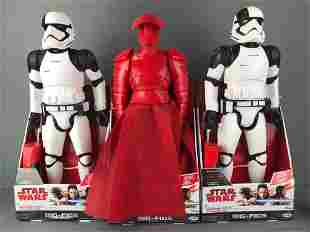Group of 3 Star Wars Big Figs Action Figures