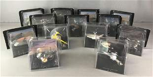 Group of 13 Star Wars Vehicles
