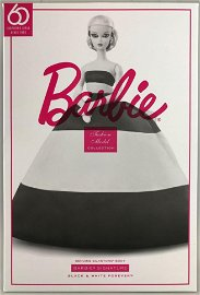 Barbie Fashion Model Collection Black and White Forever