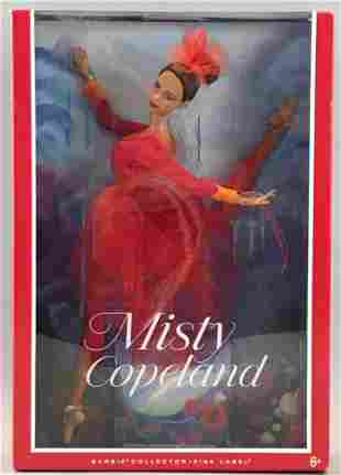 Pink Label Barbie Misty Copeland doll