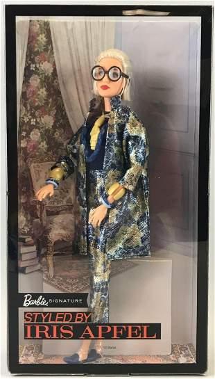 Iris Apfel styled Barbie fashion doll