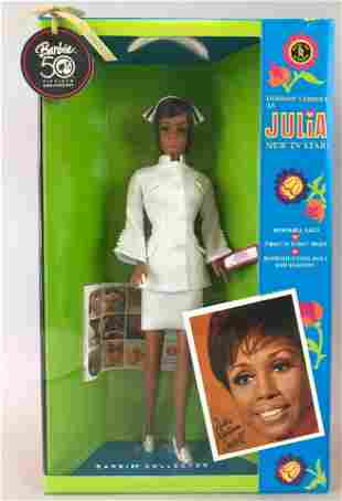 Barbie Diahann Carroll as Julia reproduction doll