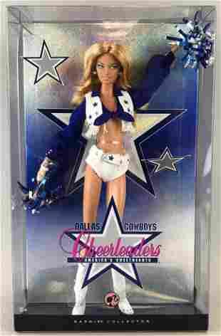 Pink Label Barbie Dallas Cowboys Cheerleaders fashion