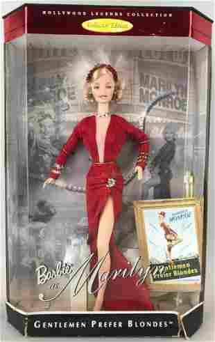 Hollywood Legends Barbie Marilyn Monroe Fashion Doll