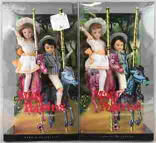 2 Pink Label Jane and Michael Fashion Doll Sets