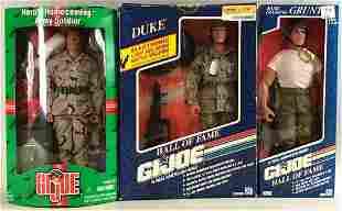 Group of 3 Hasbro G.I. Joe action figures