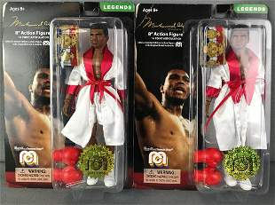 2 Mego Corp Muhammad Ali Action Figure