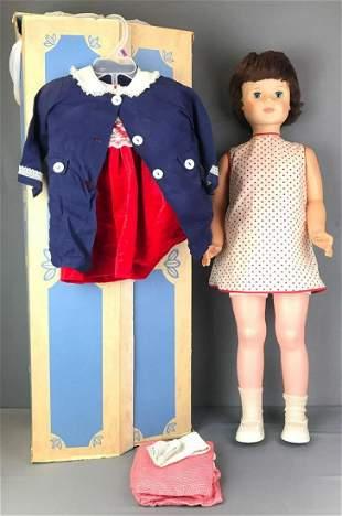 Eegee Walking Doll