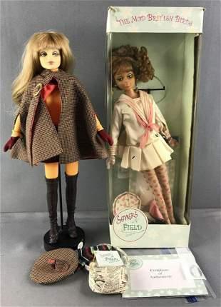 2 Mod British Birds dolls