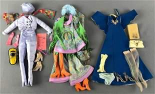 Group of 3 Mod British Birds costumes