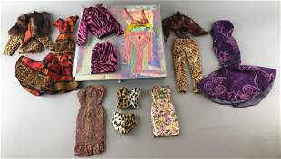 14 piece group 16 inch ball jointed doll fashions