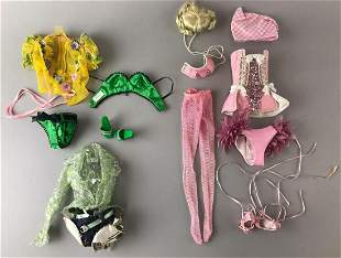 Group of 15 pieces FBR by Superdoll Sybarite doll