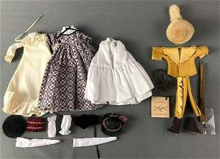 Group of 3 Madame Alexander Doll Outfits