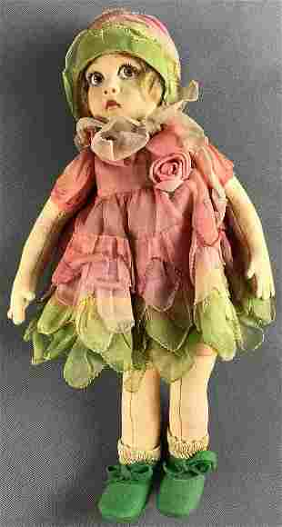 Small Italian Lenci Flapper Doll