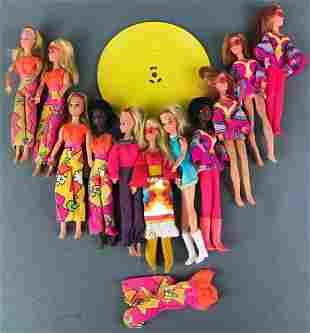 Group of 11 Fashion Dolls