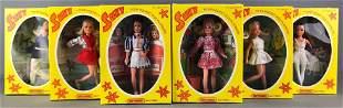 Group of 6 Matchbox Suky Dolls