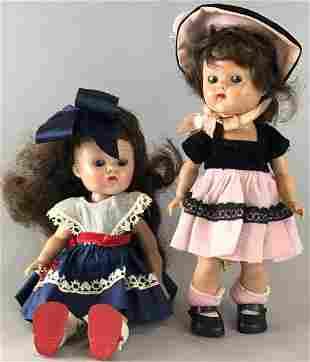 Group of 2 Vogue Dolls Ginny dolls-Brunette