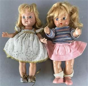 Group of 2 Vogue Dolls dolls