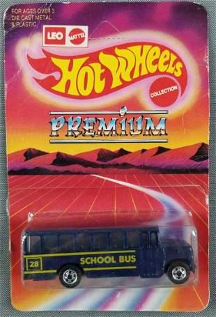 Leo Mattel Hot Wheels Premium 1795 School Bus