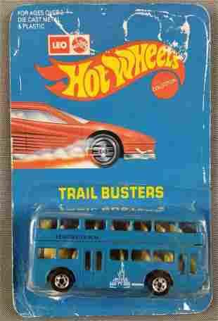 Leo Mattel Hot Wheels 3291 Double Decker Bus