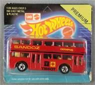 Leo Mattel Hot Wheels Premium Double Decker Bus 3291