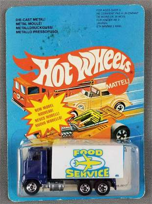 Hot Wheels foreign market Food Service truck 4548