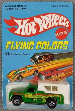 Hot Wheels Flying Colors Backwoods Bomb 7670