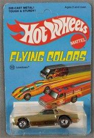 Hot Wheels Flying Colors Lowdown 9185