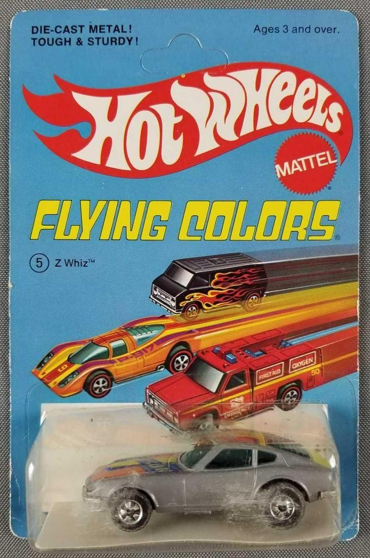 Hot Wheels Flying Colors Z Whiz 9639
