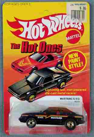 Hot Wheels The Hot Ones Mustang SVO 9531