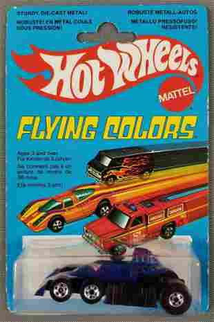 Hot Wheels French Flying Colors Lickety Six