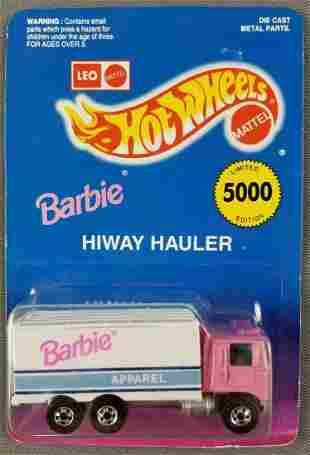 Leo Mattel Hot Wheels Barbie Hiway Hauler 1174