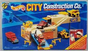 Hot Wheels City Construction Co play set