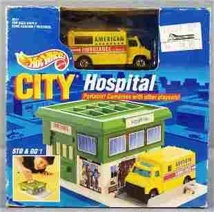 Hot Wheels City Hospital play set