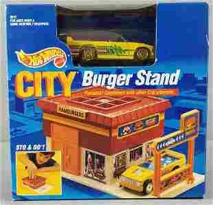 Hot Wheels City Burger Stand play set