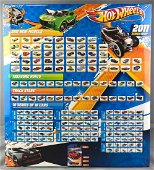 Hot Wheels 2011 Series Collection Box