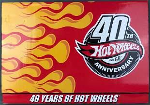 Hot Wheels 40th Anniversary Car Set