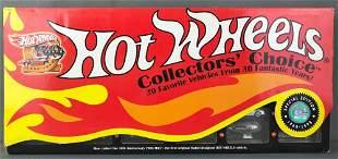 Hot Wheels 30th Anniversary Collectors Choice Car Set