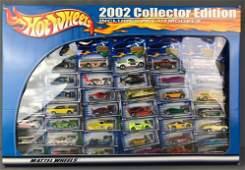 Hot Wheels 2002 Collector Edition Car Set