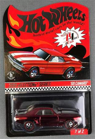Hot Wheels 2010 Selection Series 69 Camaro
