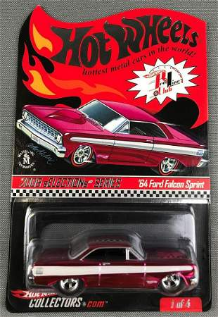 Hot Wheels 2009 Selections Series 64 Ford Falcon Sprint