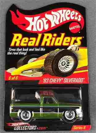 Rare Hot Wheels Real Riders 83 Chevy Silverado