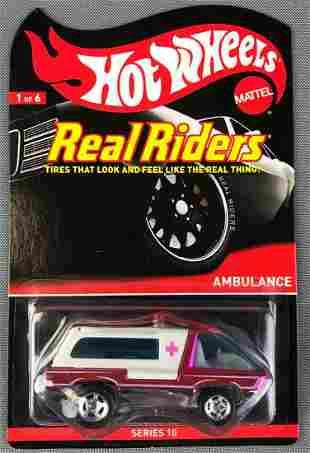 Hot Wheels Real Riders Ambulance