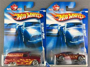 2 Hot Wheels 2009 Collector Edition Chevys