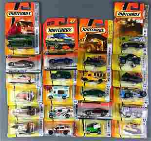Group of 22 Matchbox Die Cast Vehicles