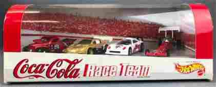 Hot Wheels Coca Cola Race Team Vehicle Set