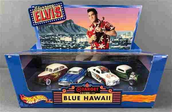 Hot Wheels Drive in Blue Hawaii Vehicle Set